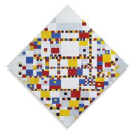 Victory Boogy Woogy - Schilderij van Piet Mondriaan