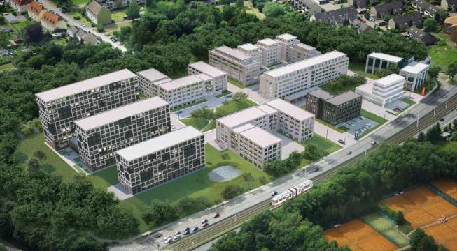 Hoogste modulaire gebouw in Europa (Bochem)